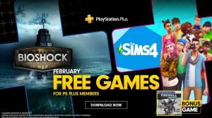 Feb 2020 Free PS Games