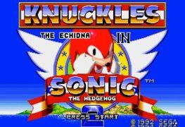 Sega Ages Sonic 2 knuckles
