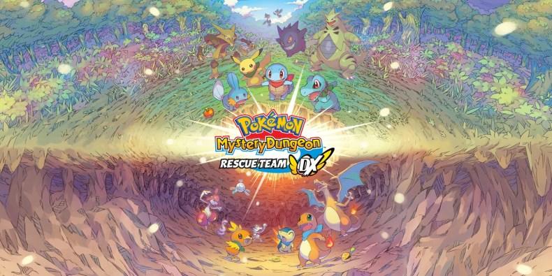 Pokemon Myster Dungeon Switch