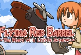 Flying Red Barrel