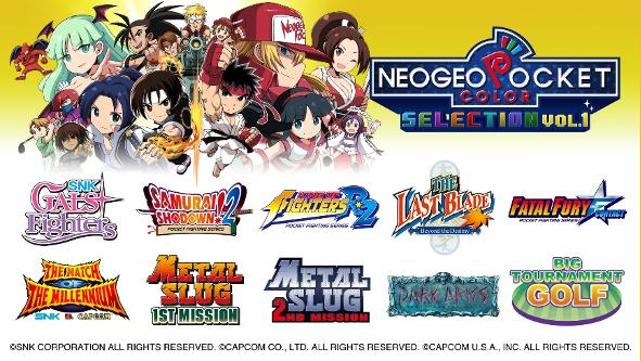 Neogeo POcket Color Selection Vol1