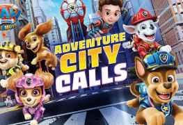 PAW Patrol The Movie Adventure City Calls announce trailer