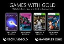 Xbox Gold Oct 2021