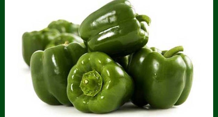 Green Capsicum - 50 to 60 Seeds - MGS1214