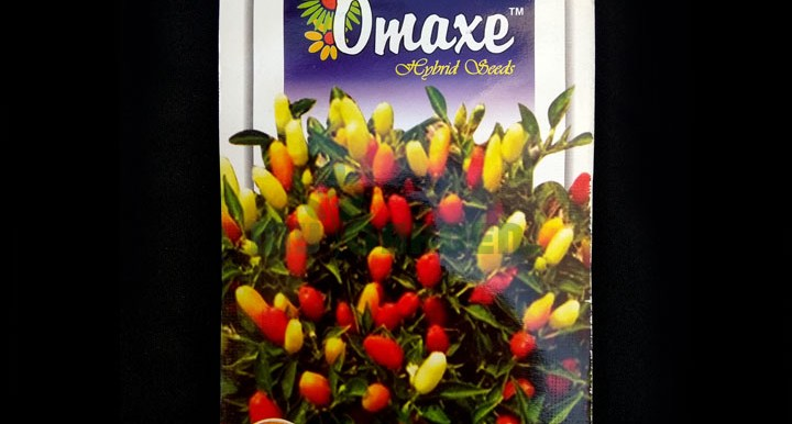 Ornamental Chilli Choice Mixed – (30 seeds) – Omaxe - Indian