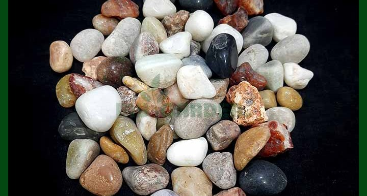 Mixed Textured Pebbles - (20 to 45 mm) - MGSP6037