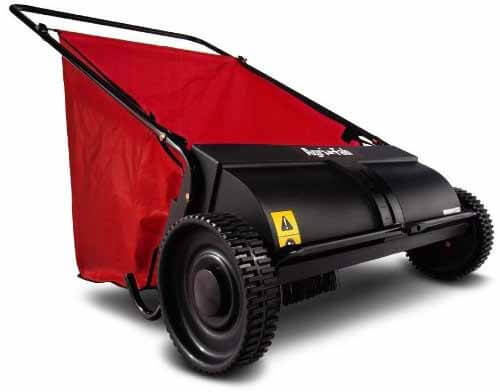 best rated lawn sweeper