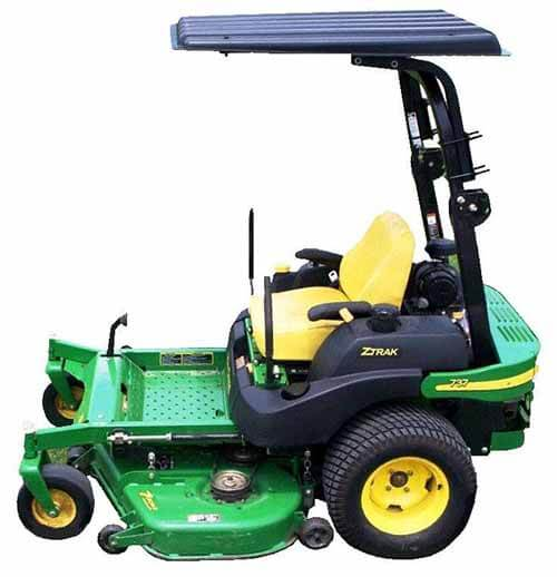 zero turn steering wheel mowers