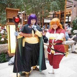 Lina & Xellos from The Slayers at A-Kon 27