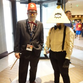 Grunkle Stan & Bill from Gravity Falls at A-Kon 27