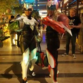 Lady Kotetsu & Lady Barnaby from Tiger & Bunny at A-Kon 27