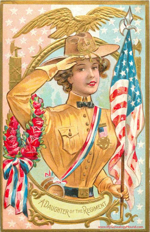 A Daughter Of The Regiment GAR Memorial Or Decoration