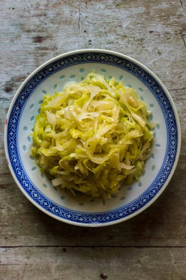 Cabbage Salad with Broth