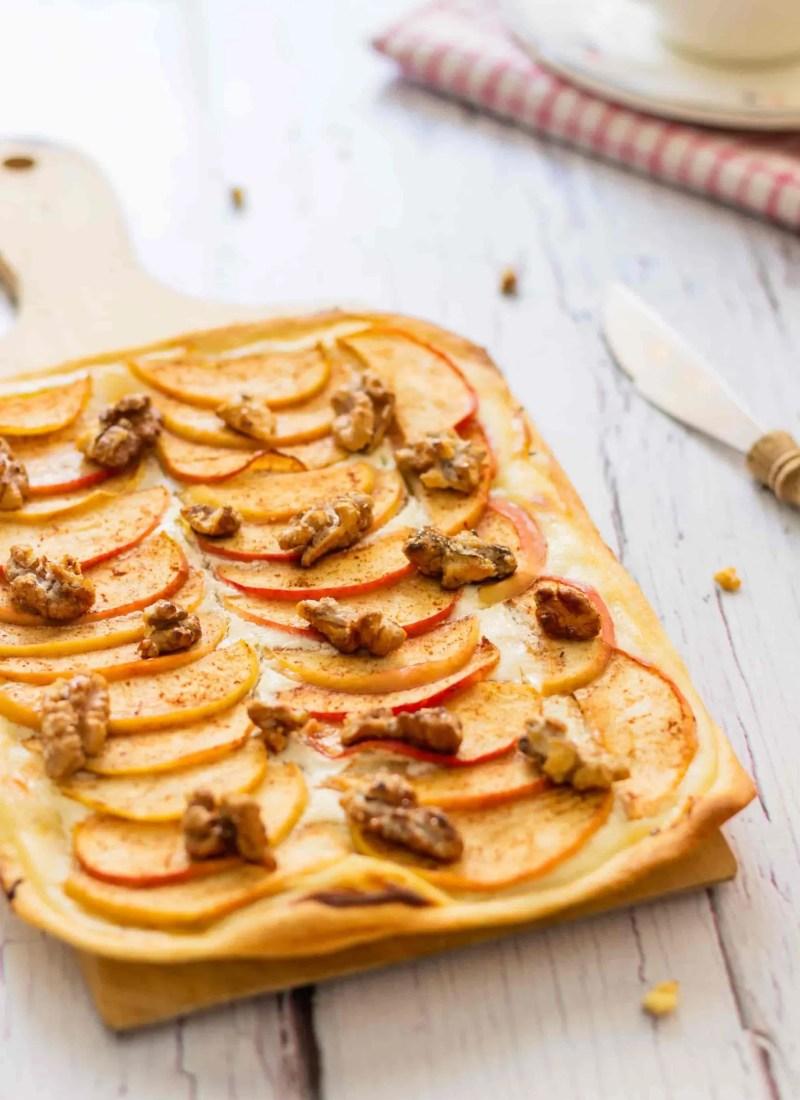 Apple Flammkuchen
