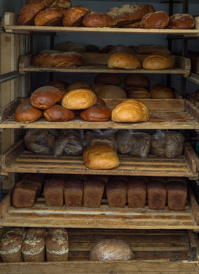 Bread from a bakery