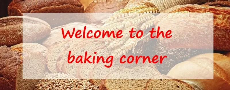 Welcome to the baking corner!