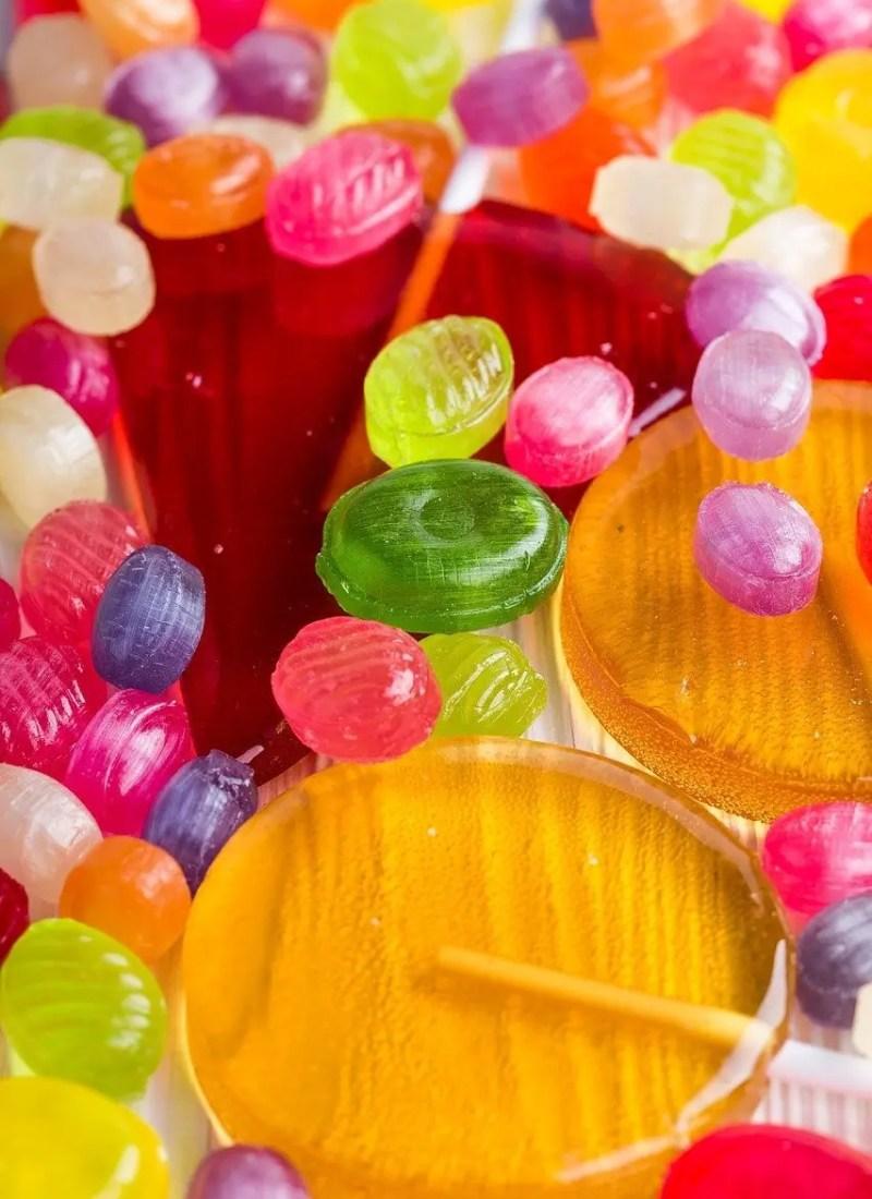 Assortment of candies