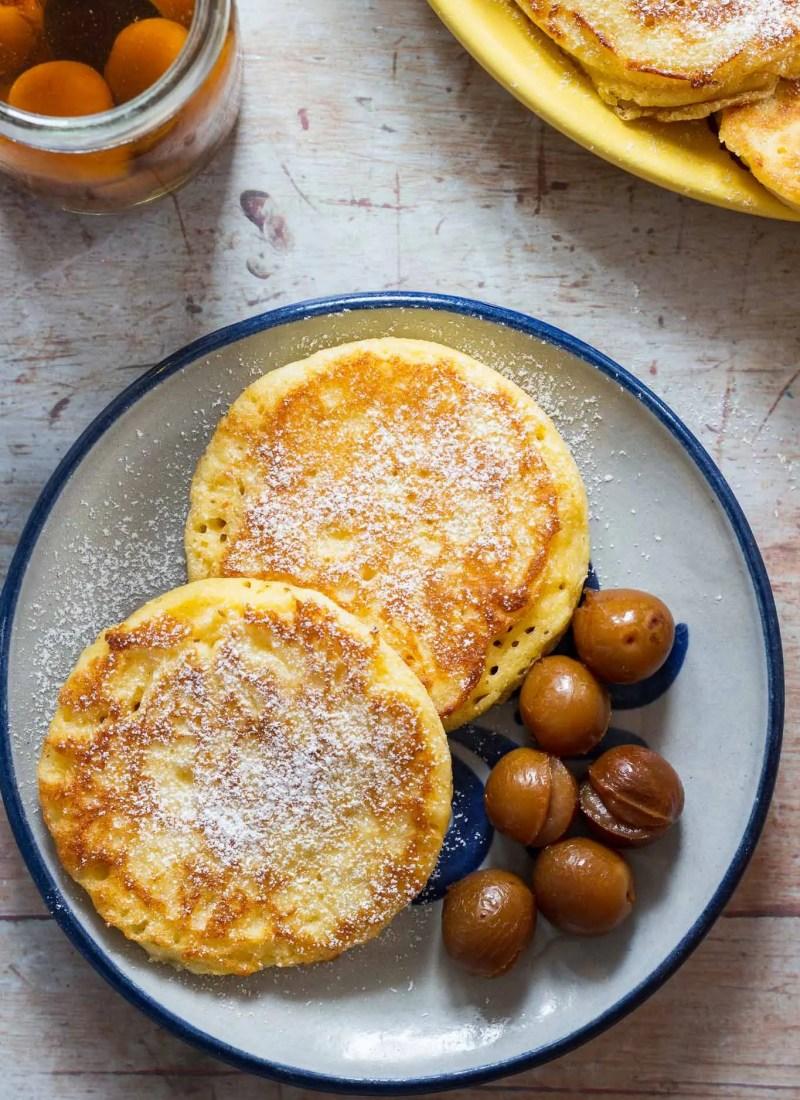 Liwanzen, Dalken, Yeast Pancakes