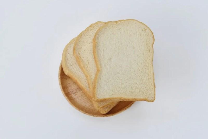 white sandwich bread with soft crumb