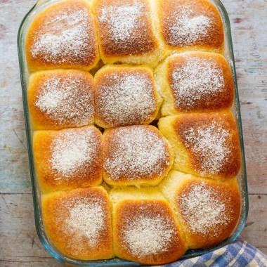 Buchteln (Bohemian Baked Yeast Dumplings)