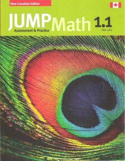 Jump Math 1 1 Workbook Grade 1 Part 1 Of 2