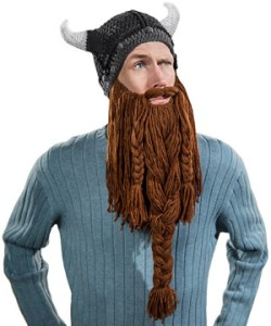 Hat with beard