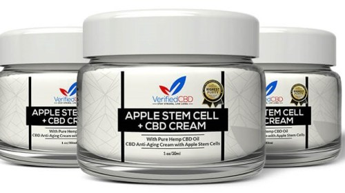 Verified CBD - CBD Anti-Aging Cream That Contains Apple Stem Cells