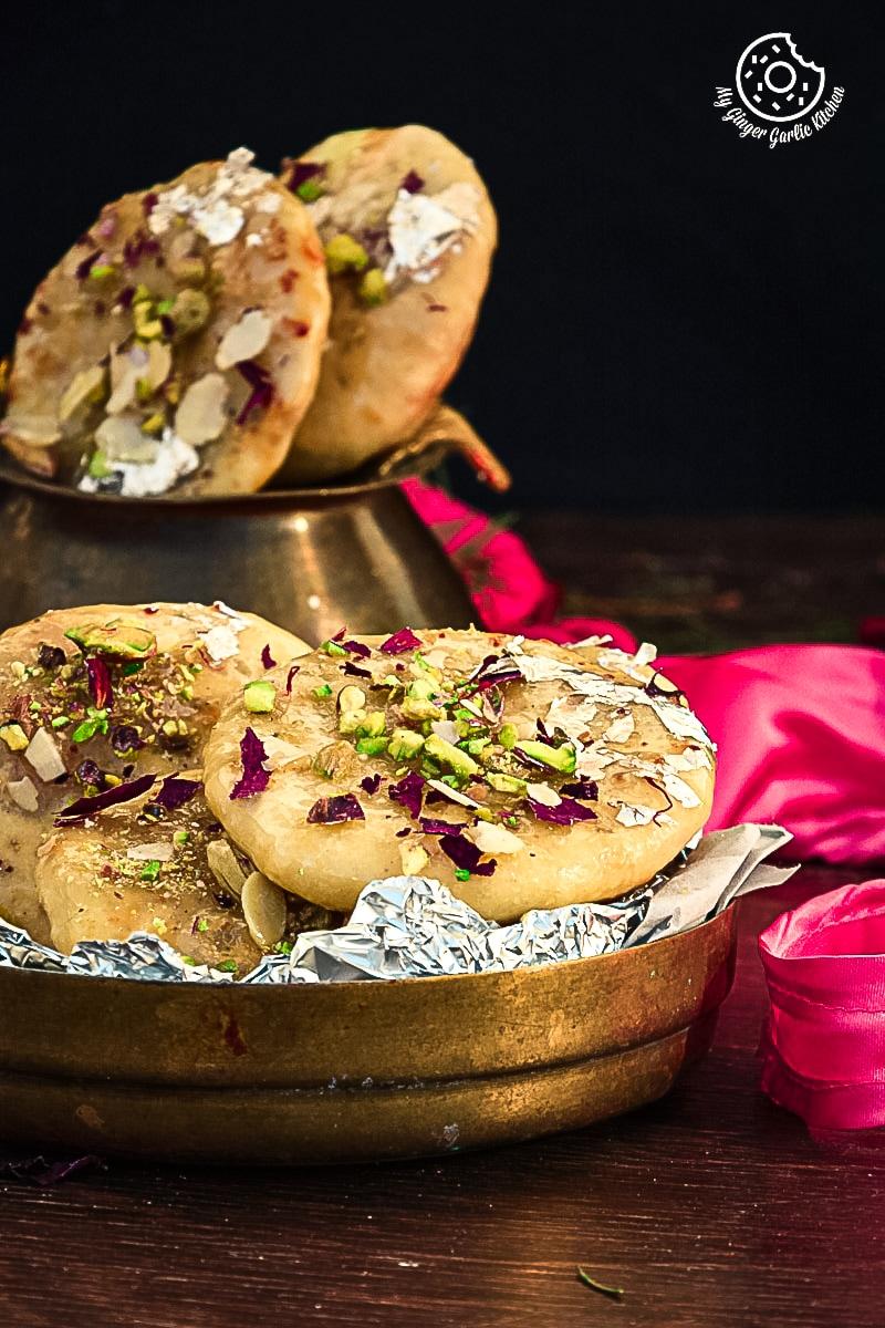 recipes-Jaipuri-Mawa-Kachori|mygingergarlickitchen.com/ @anupama_dreams