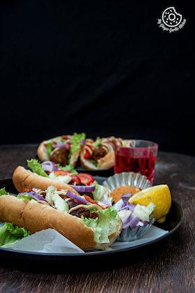 Sweet Potato Cabbage Hot Dog | Vegan Hot Dog