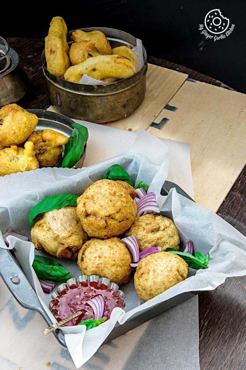 Potato Stuffed Bread Roll   mygingergarlickitchen.com/ @anupama_dreams
