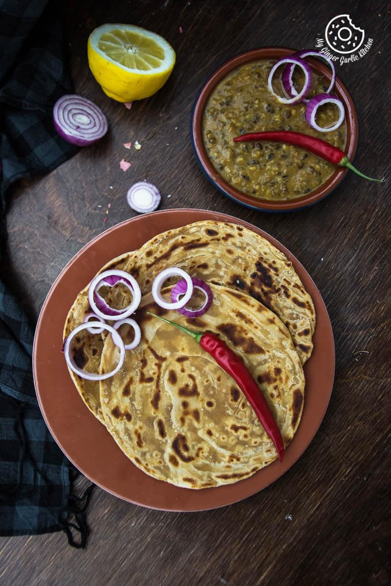 Lachha Paratha 3 Ways | How to Make Lachha Paratha | mygingergarlickitchen.com/ @anupama_dreams