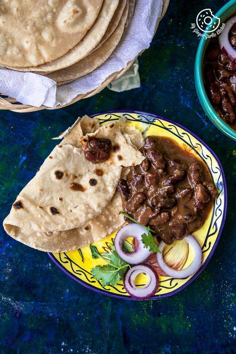 How To Make Indian Roti   Phulka Recipe   Chapati   mygingergarlickitchen.com/ @anupama_dreams