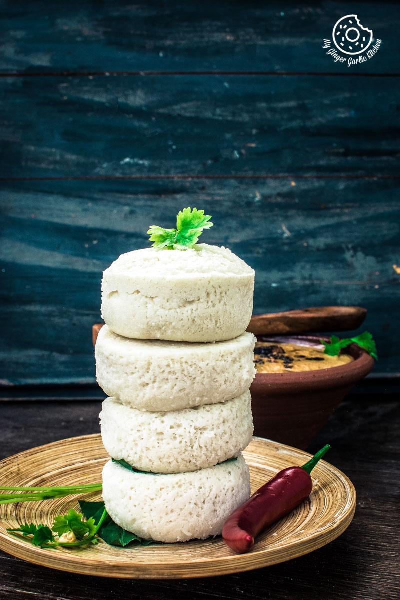 How To Make Goan Sanna | Mangalorean Idlis | Goan Steamed Rice Cake | mygingergarlickitchen.com/ @anupama_dreams