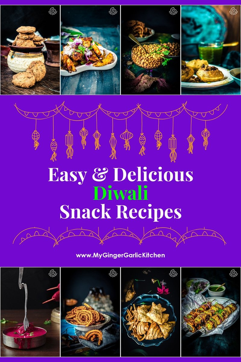 75 Diwali Savory Snacks Recipes You Would Love To Try | mygingergarlickitchen.com/ @anupama_dreams