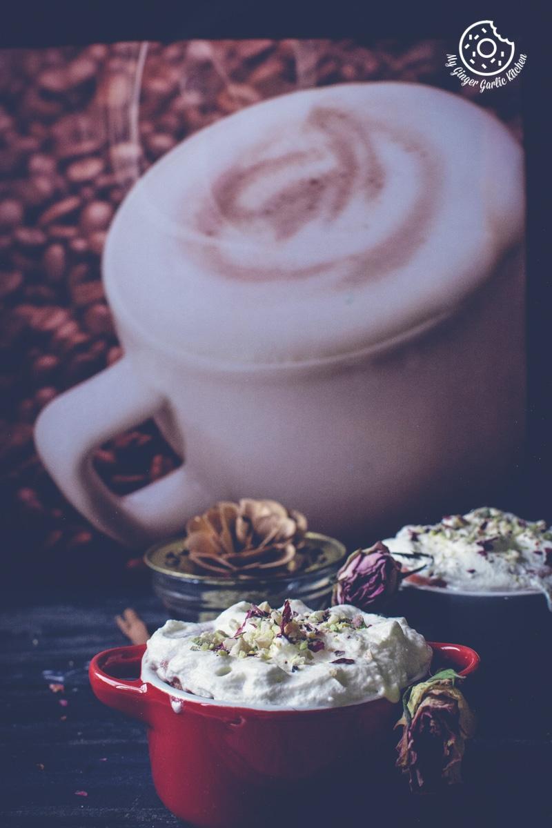 Eggless Gulkand Mug Cake in 2 Minutes | Rose Mug Cake Recipe Video | mygingergarlickitchen.com/ @anupama_dreams
