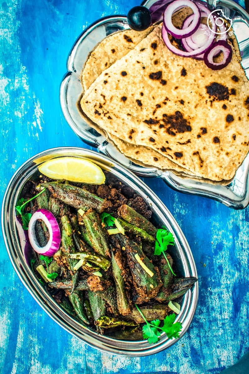 Bharwa Bhindi Recipe | Stuffed Okra Masala Recipe Video | | mygingergarlickitchen.com/ @anupama_dreams