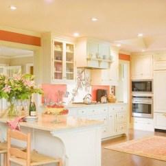 Coral Kitchen Decor Kids In The Book And Cream Colored Room Design