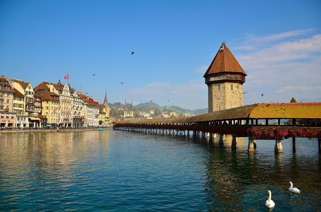 Lucerne, most beautiful cities in Europe