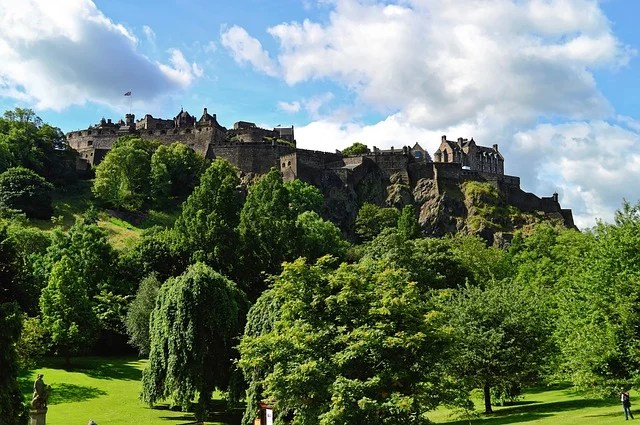 Edinburgh Castle is one of the most Instagrammable places in the UK.