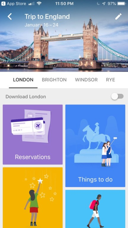 Google Trips is a lifesaver, and one of the best travel apps