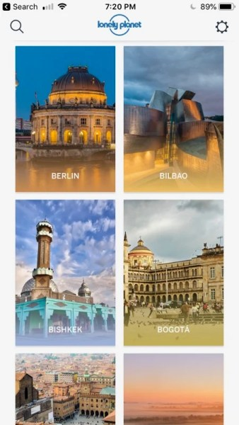 Lonely Planet Guides is one of the top travel apps in the world