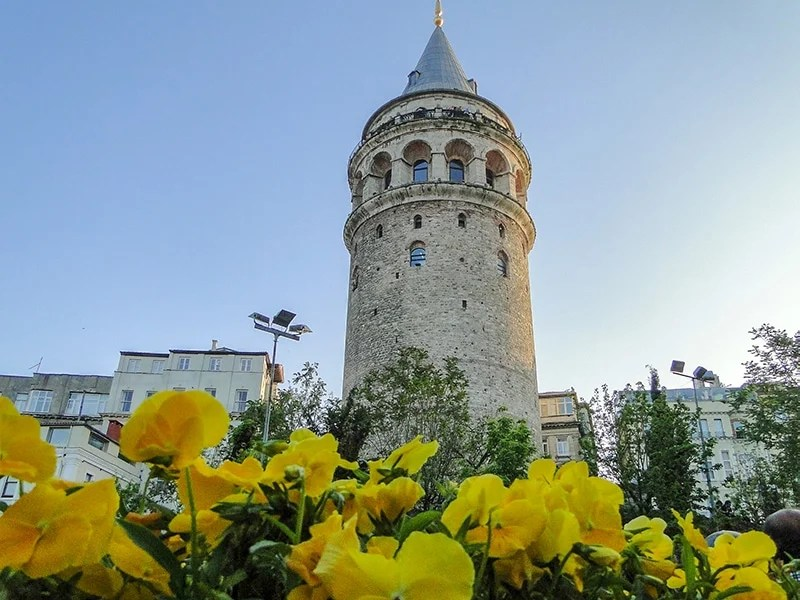The Galata Tower is a worthwhile sight to check out during your layover in Istanbul.