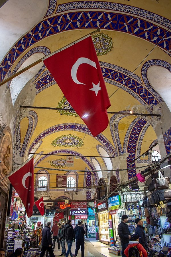 The Grand Bazaar is a central part of the Istanbul experience
