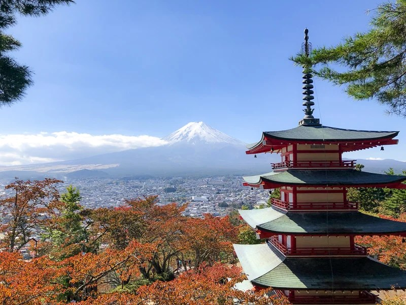 Mt. Fuji is a beautiful mountain in Japan. It's one of the best and most noteworthy UNESCO World Heritage Sites.