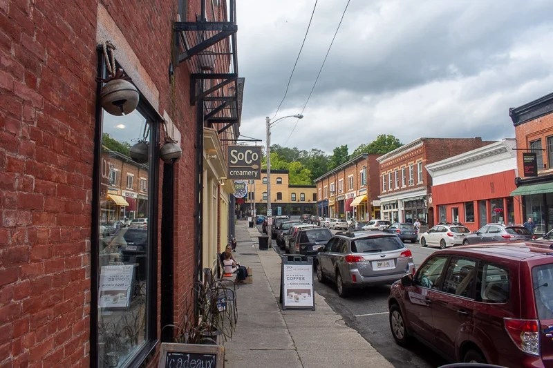 Great Barrington is home to SoCo, one of my favorite ice cream joints.