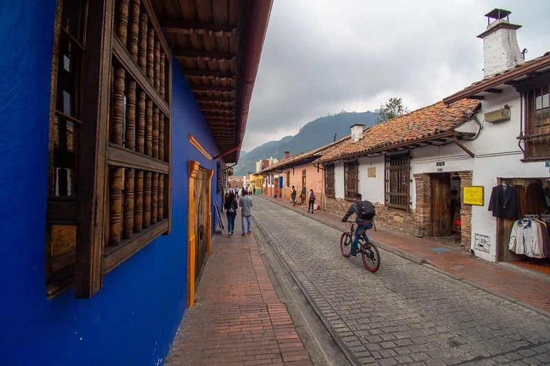 Bogota, Colombia Travel Guide: La Candelaria is known for its interesting mix of colonial architecture and modern street art.