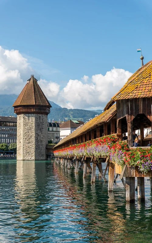 Lucerne is one of the most beautiful places in Switzerland.