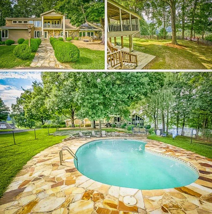 22a virginia airbnb rental with private in ground pool