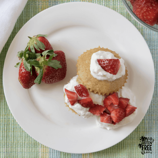 Gluten-Free, Beer-Infused Strawberry Shortcakes