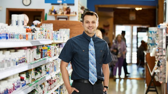 Pharmacist Clay Hayner